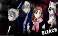 bleach-anime - Toshirou-Gin-Inoue-Ulquiorra wallpaper