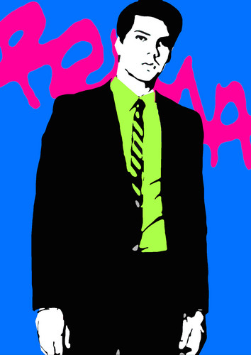 Modern Art fondo de pantalla with a business suit called por dominic joyce