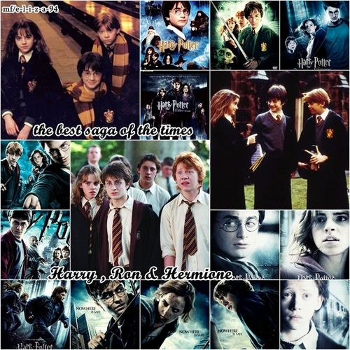 harry ,ron and hermione