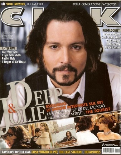 johnny depp- 2010 Nov - Italy's Ciak magazine