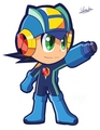 megaman exe (power up)