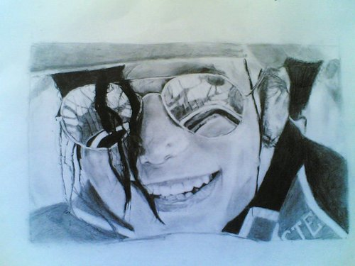 michael jackson drawing 2
