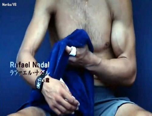 rafa sexy muscles