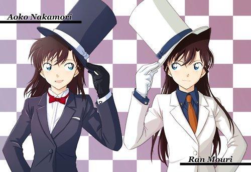 Ran & Aoko déguiser en Kid
