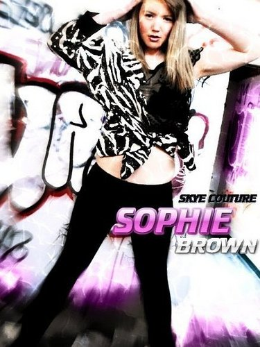 sophie brown skye couture teen model brunette