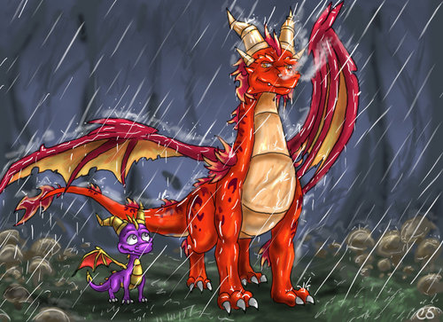 spyro and Ignitus