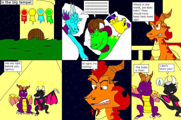 spyro comic 1