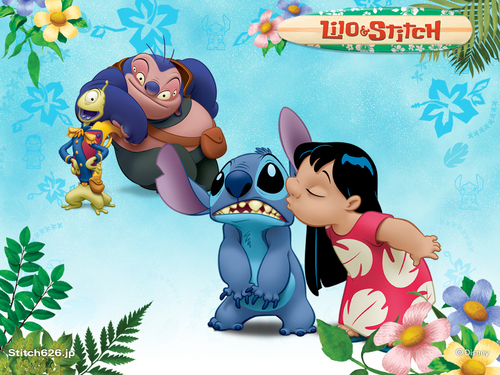 Lilo & Stitch wallpaper titled stitch