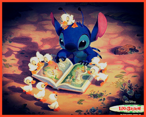 Lilo & Stitch wallpaper possibly with animê called stitch