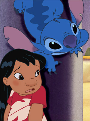 Lilo & Stitch Hintergrund possibly containing Anime entitled stitch