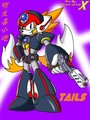 tails cosplay Axl