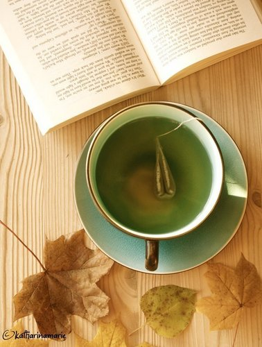tea. books. autumn