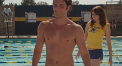 Easy A achtergrond possibly containing a hunk, swimming trunks, and a six pack entitled todd/olive