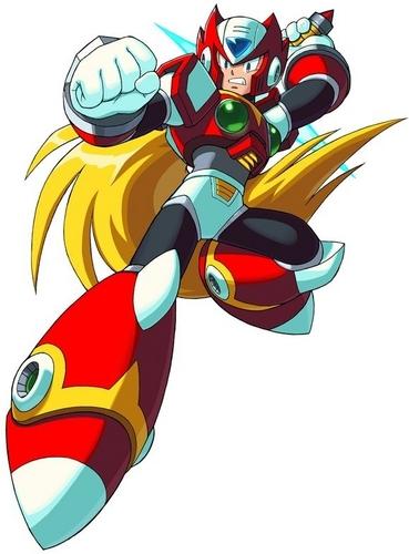 Megaman achtergrond called zero