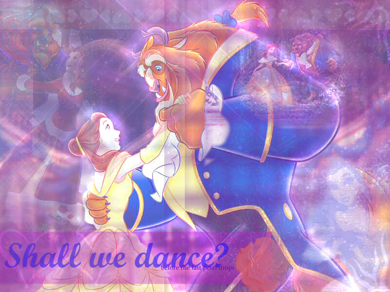 ♥ Beauty and the Beast hình nền