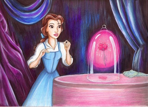 Beauty and the Beast images ♥ Belle art HD wallpaper and ...