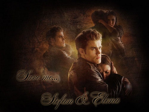 Stefan & Elena fondo de pantalla probably with a concert, a sign, and a fuego titled ♥Stefan&Elena♥
