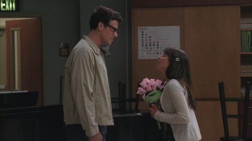 "Finn & Rachel پیپر وال entitled 2.05 ""the rocky horror glee show"""