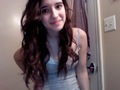Alyssa's Hair Curled And No Make up On And Still Beautiful