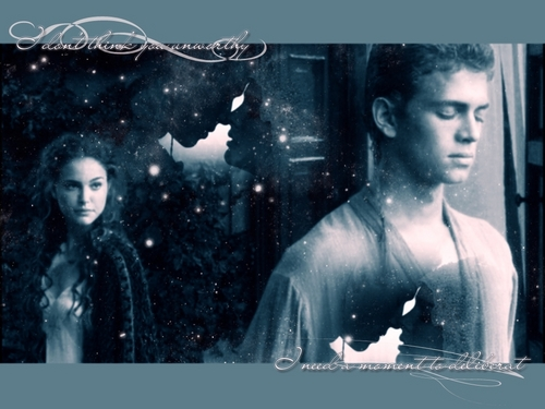 Anakin and Padme wallpaper called Anakin and Padme