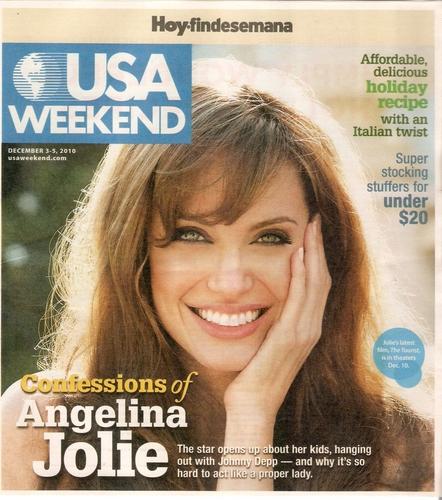 Angelina Jolie - USA Weekend Magazine