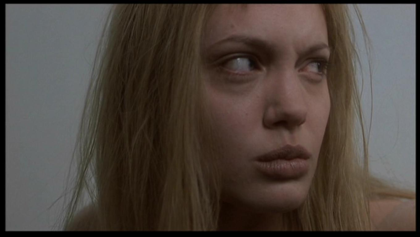 Angelina Jolie as Lisa Rowe in 'Girl, Interrupted'