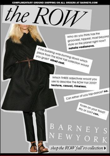 Barney's NYC Mailer