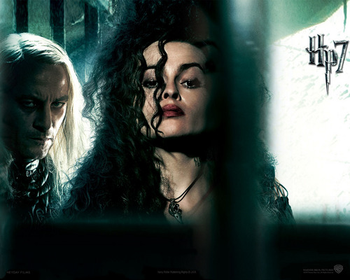 Bellatrix and Malfoy