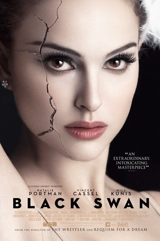 Natalie Portman wallpaper containing a portrait entitled Black Swan Poster