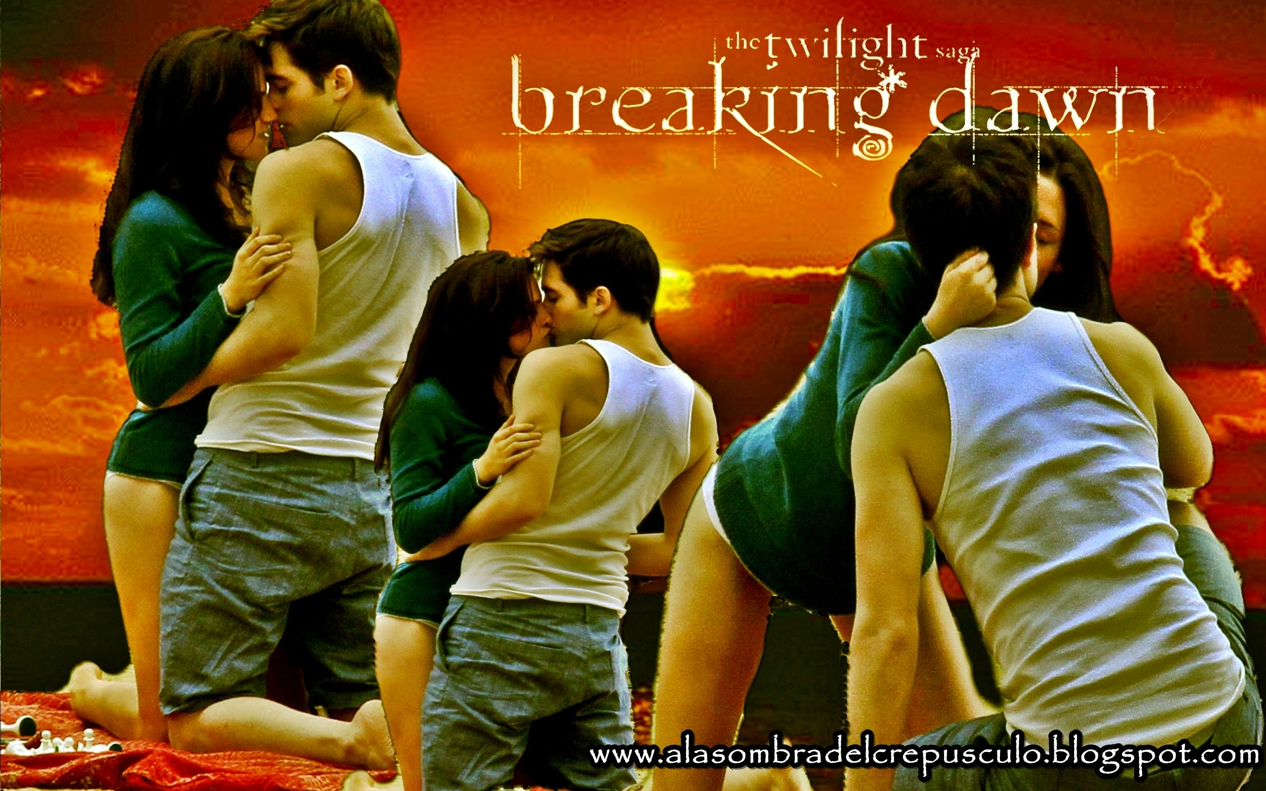 Breaking Dawn (Amanecer) - twilight-series wallpaper