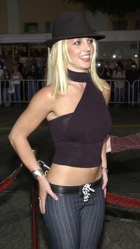 Britney at Four Feathers Premiere,September 17th,2002