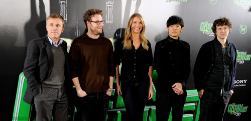 Cameron @ 'The Green Hornet' Photocall in Madrid