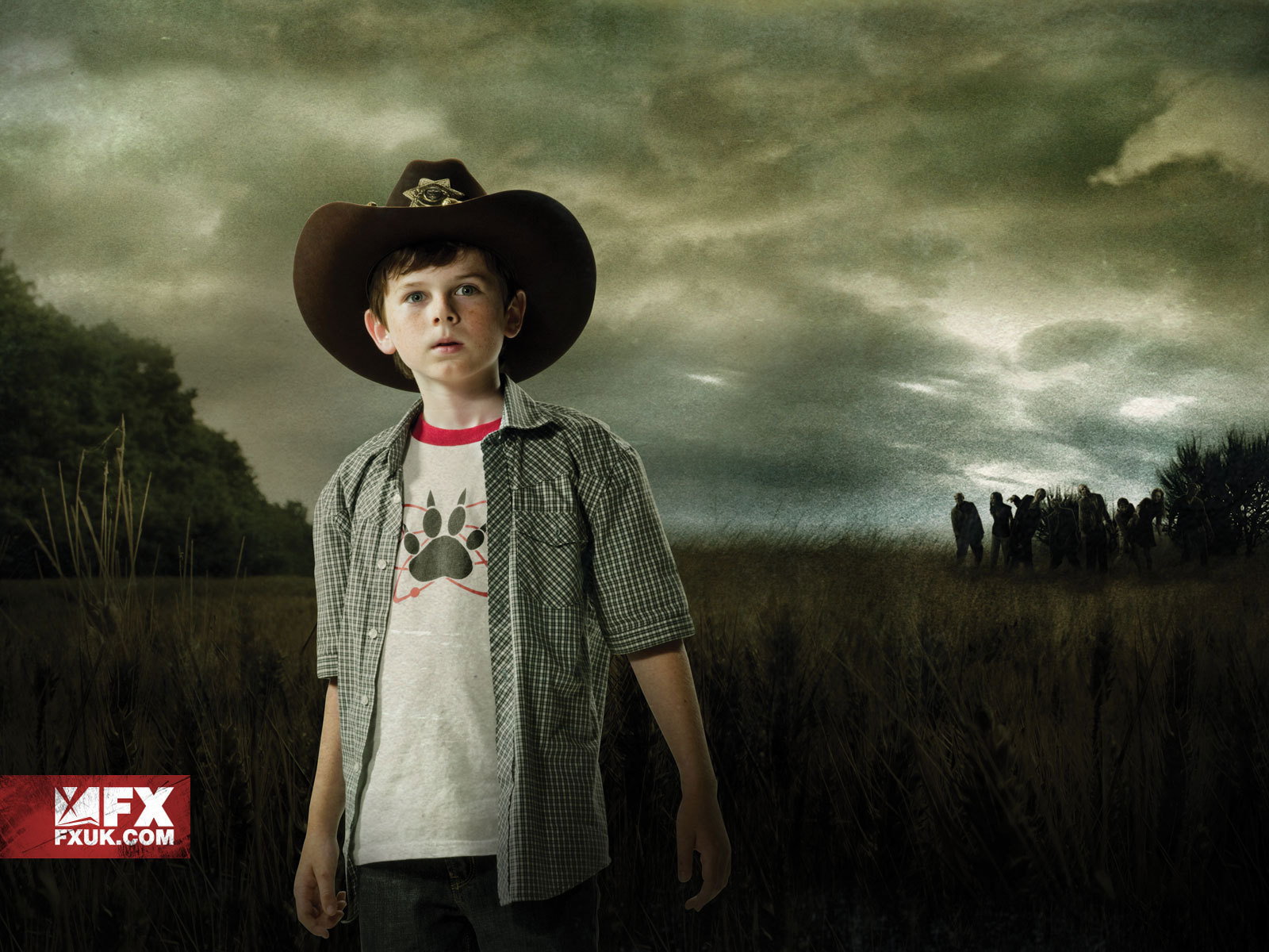 the walking dead images carl grimes hd wallpaper and background
