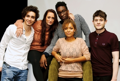 Cast at BFI Misfits Screening ♥ - misfits-e4 Photo