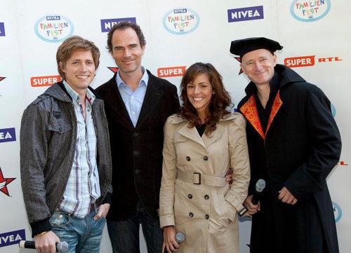 Cast at Nivea Familienfest 2010