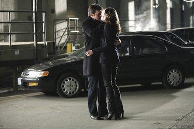 замок & Beckett (before или after the kiss)