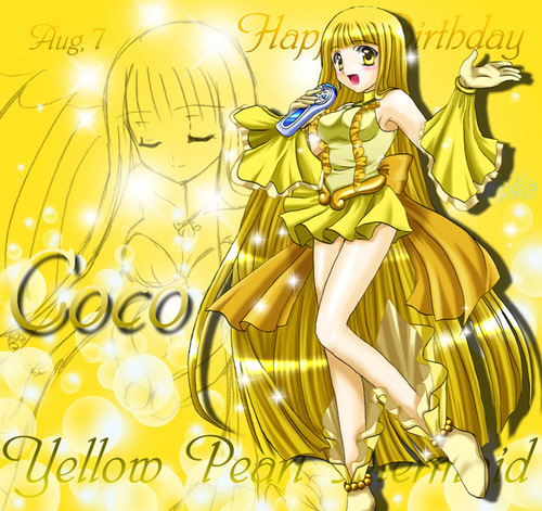 Mermaid Melody Hintergrund possibly with Anime called Coco