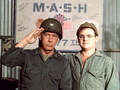 Colonel Potter &amp; Radar - m-a-s-h wallpaper