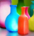 Colourful Bottles - bright-colors fan art
