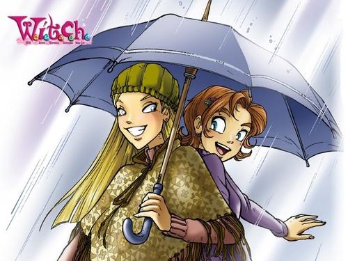 Cornelia & Irma Wallpaper