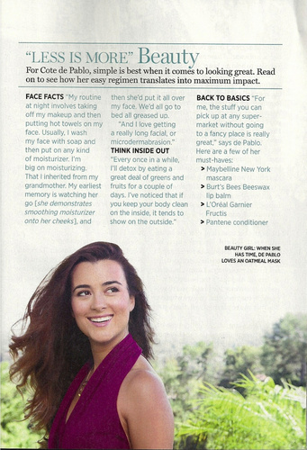 Cote De Pablo Prevention 2011