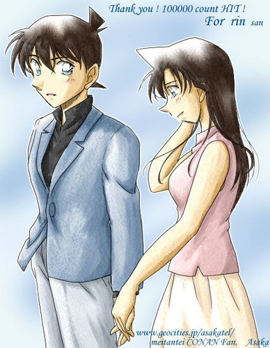 Detective Conan Couples wallpaper containing anime entitled Couple