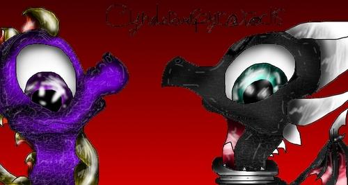 Cynder and Spyro