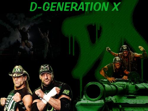 WWE wallpaper titled D-GENERATION X