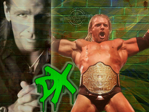 D-GENERATION X - wwe Wallpaper
