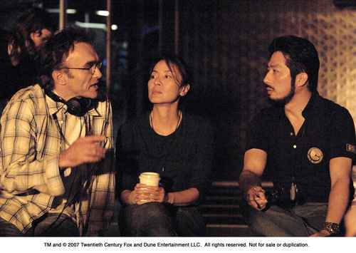 Danny Boyle with Michelle Yeoh & Hiroyuki Sanada