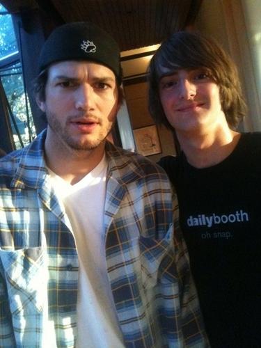Davedays and Ashton Kutcher
