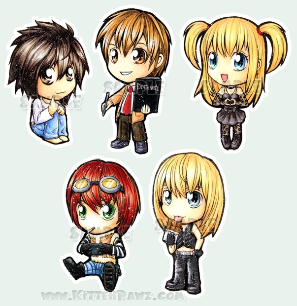 Death Note Чиби