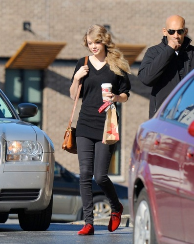 December 1 - Leaving Starbucks in Nashville, Tennessee