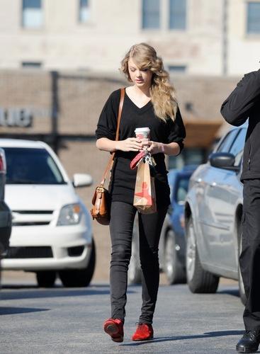 December 1 - Leaving Starbucks in Nashville, Tennessee